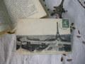 モノクロームポストカード(エッフェル塔)