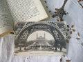 モノクロームポストカード(エッフェル塔からトロカデロ宮殿)
