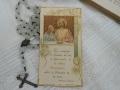 フランスアンティークHoly Card・プルミエール コミュニオンP