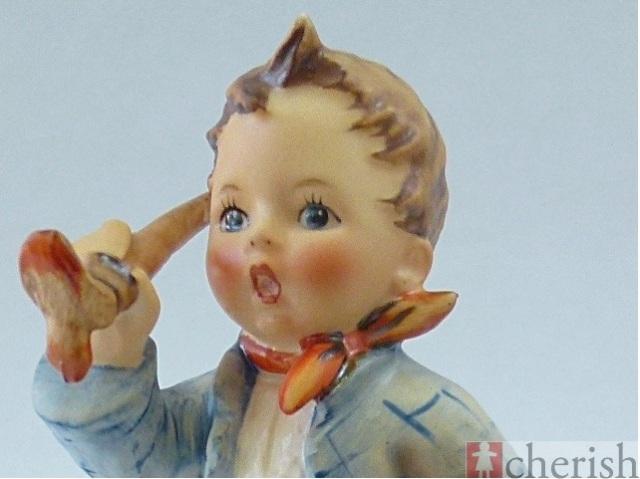 高級陶磁器人形フンメル人形 アーティスト 芸術家ー絵筆をもつ男の子