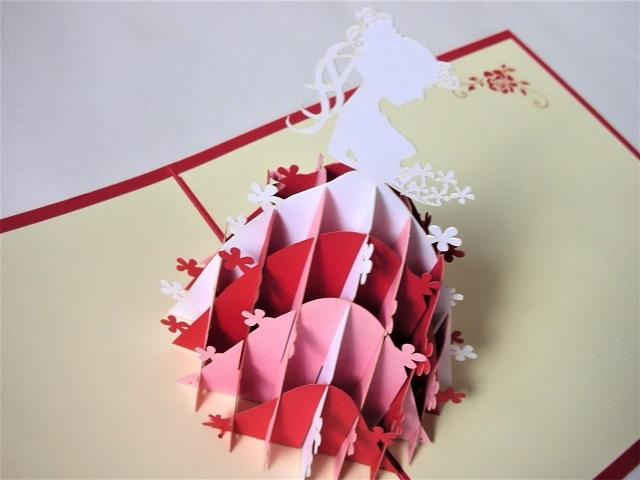 女の子 プリンセス メッセージカード