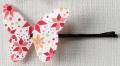 silo蝶の髪飾り大 バタフライクリップ