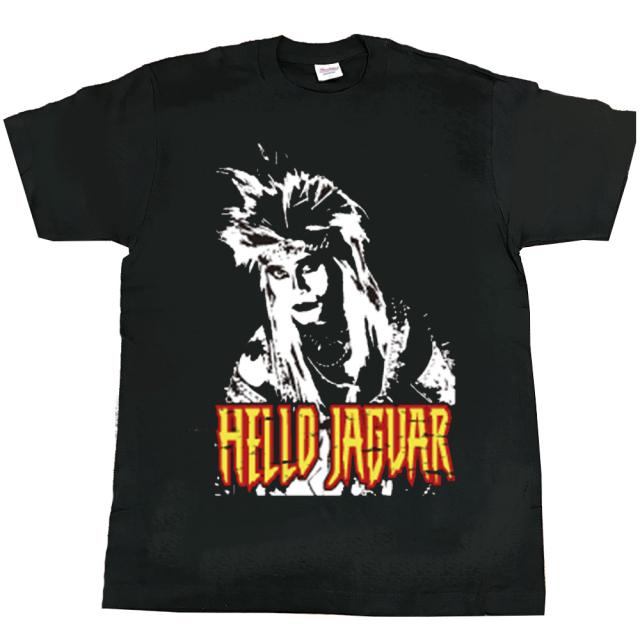 ジャガーさん(JAGUARさん) Tシャツ(黒A)メンズS~XLサイズ   (LC)