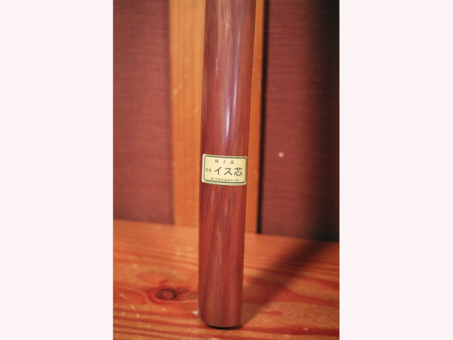 イス芯の木刀