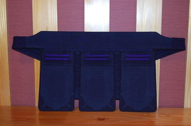 心600紫飾り 垂 少年用