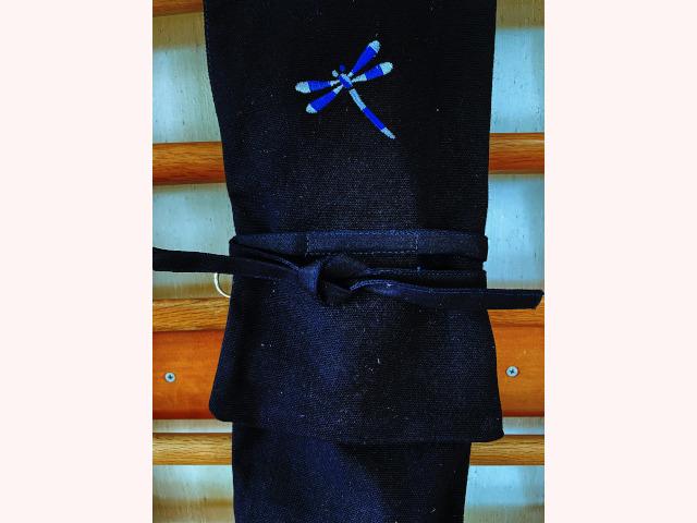 8号帆布トンボ刺繍略式 3本入