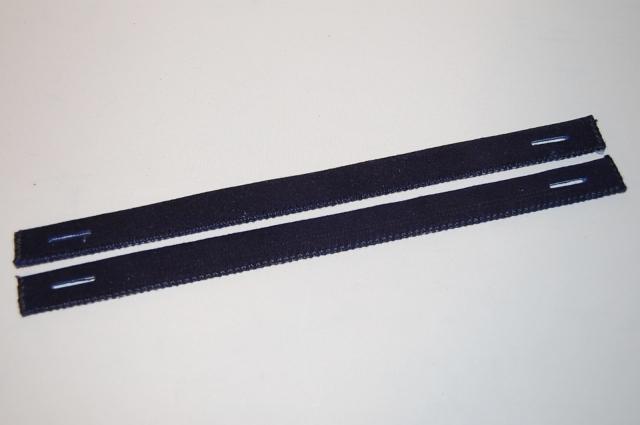 紺鹿革縫乳 短30cm