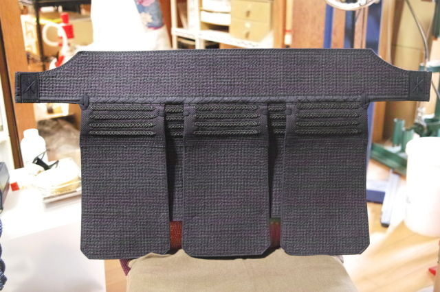 西都 垂 袋縫い 格子刺