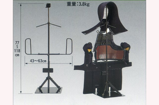 剣道防具飾り台