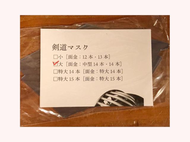 ヒロヤ 剣道マスク
