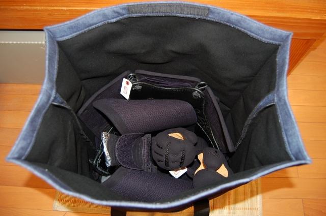 色季 防具袋