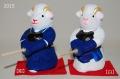 干支剣道人形 2015 《ひつじ》