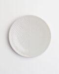 阿南維也 白磁鎬4寸皿