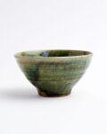 及川静香 緑釉飯碗
