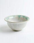 松村英治 丸小鉢(ふち翡翠)