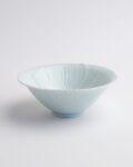 宮岡麻衣子 白磁花形小鉢