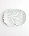 宮岡麻衣子 白磁棕梠形小皿