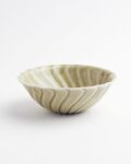 ヨシノヒトシ 青瓷捻貝殻鉢(M)