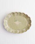ヨシノヒトシ 青瓷膾皿