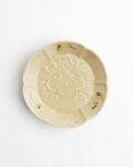 ヨシノヒトシ 黄砂釉3寸皿