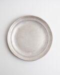 亀田大介 銀磁7.5寸リム皿