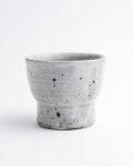 亀田大介 灰釉粉引台小鉢