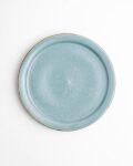 土井康治朗 せとうちブルー6寸リム皿