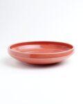 土井康治朗 紅赤6寸浅鉢