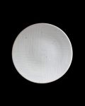 阿南維也 白磁鎬5.5寸皿