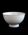 阿南維也 白磁鎬麺鉢