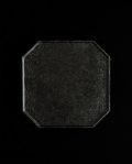 蝶野秀紀 和紙貼ティートレー八角M(黒)
