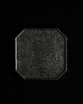 蝶野秀紀 和紙貼ティートレー八角S(黒)