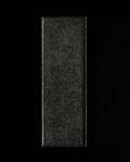 蝶野秀紀 和紙貼一文字盆S(黒)