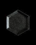 蝶野秀紀 和紙貼六角豆皿M(黒)