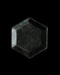 蝶野秀紀 和紙貼六角豆皿S(黒)