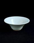 土井善男 白磁4.5寸平鉢