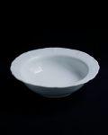 土井善男 乳白5.5寸稜花鉢