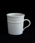 林健二 白釉マグカップ