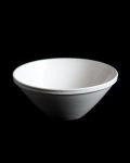 石田誠 5.5寸リムボウル(ホワイト )