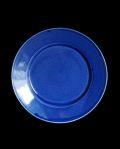 石田誠 6.5寸リム皿#2(ブルー)