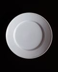 石田誠 6.5寸リム皿(ラベンダー)