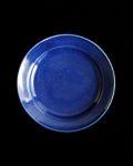 石田誠 4.5寸リム皿#3(ブルー)