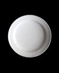 石田誠 4.5寸リム皿#3(ホワイト)
