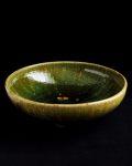 松村英治 緑釉大鉢
