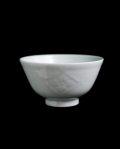 宮岡麻衣子 型紙刷り花井桁文飯茶碗