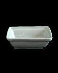新道工房 白磁長角鉢