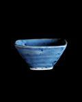 清水なお子 呉須まき四方鉢