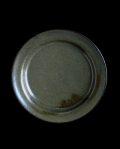 田中大喜 淡灰釉5.5寸段皿