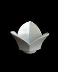 豊増一雄 白瓷桔梗豆鉢