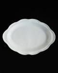 ヨシノヒトシ 白瓷カレーオーバル皿
